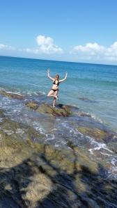 Yoga on the rocks!