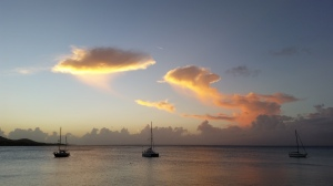 Sunset in Vieques