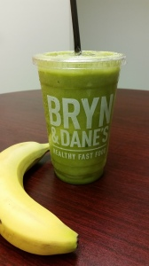 Eat more Greens! My Bryn & Dane Green Smoothie