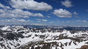 View from Quandary Peak