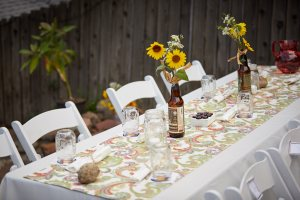 DIY Wedding Table