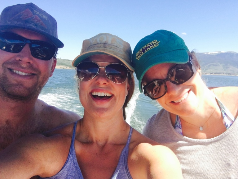 Boating on Lake Dillon!